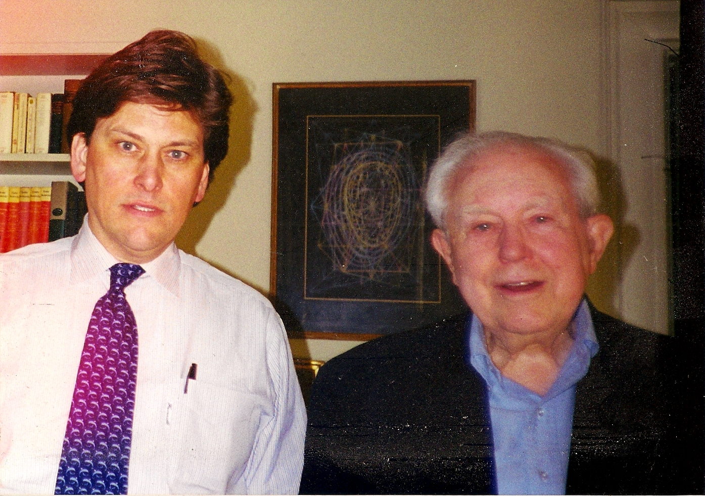 Elliott Carter and Christopher Fulkerson